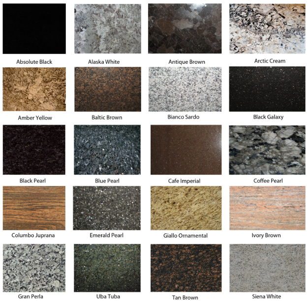 Types Of Blue Granite How To Mix Colours For Perfect Interior