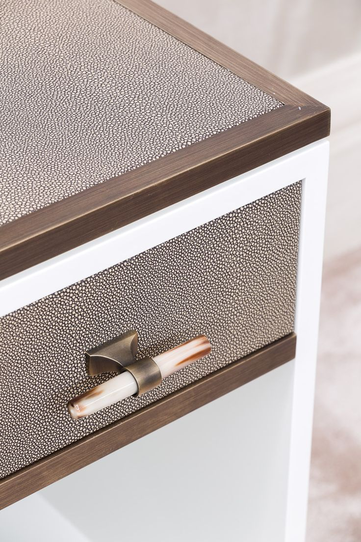 DETAIL   Soft, Contemporary Bedside Table
