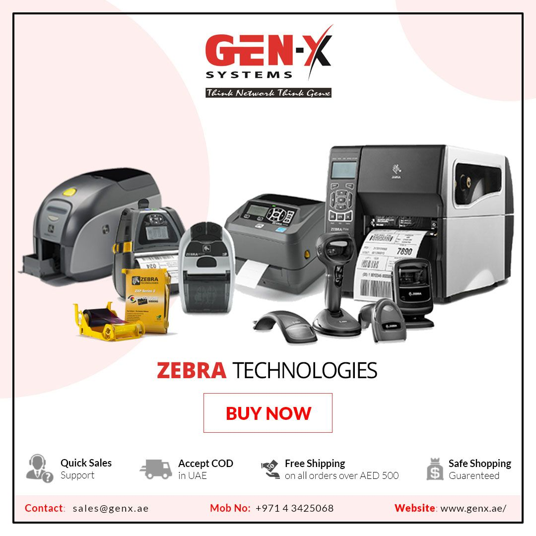 Looking For Zebra Technologies Products If Yes Then Your Search Ends At Genxsystem We Are Zebra Partners Carries A Zebra Label Printer Zebra Printer Zebra