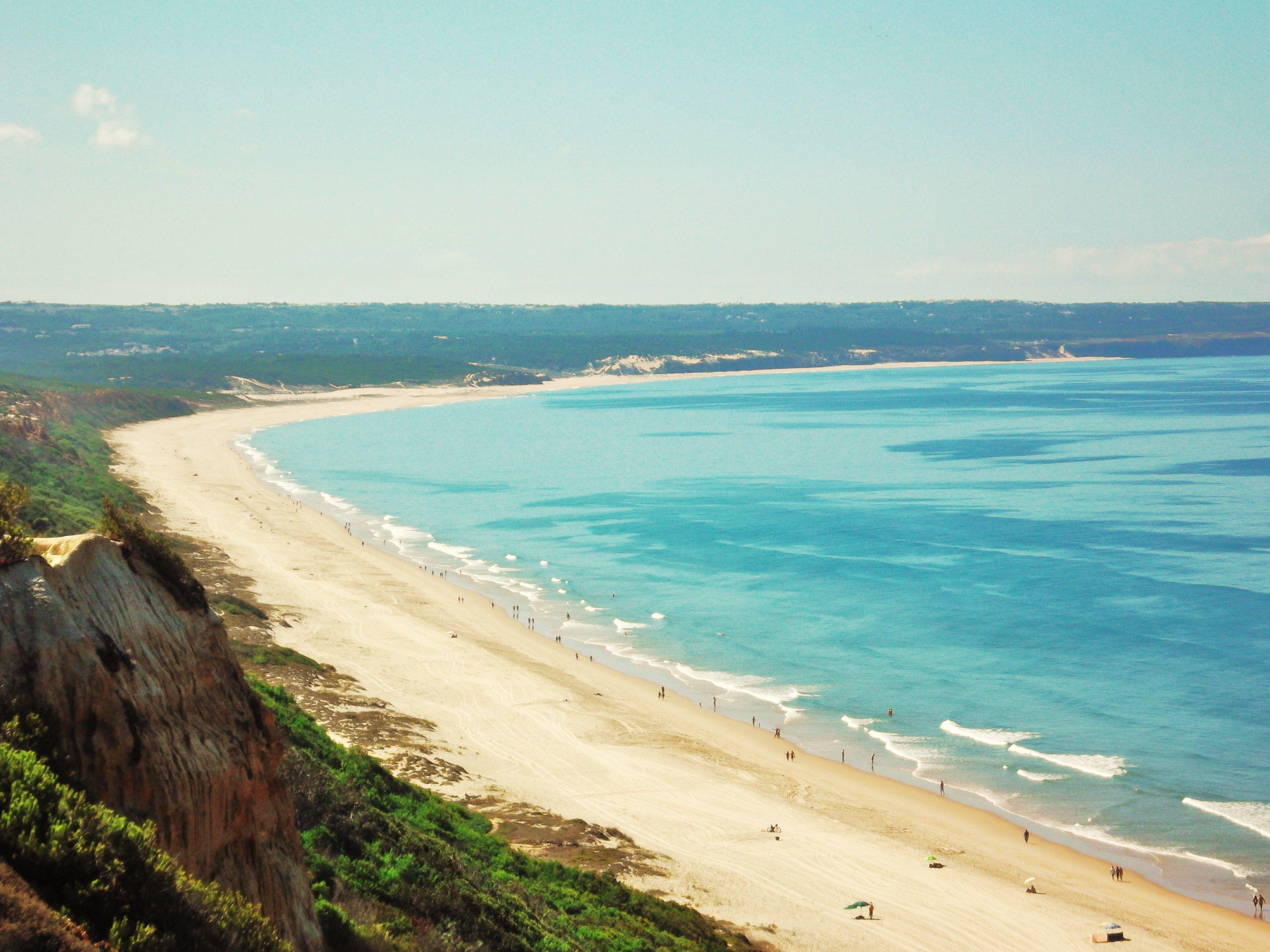 Imagini pentru costa da caparica beach