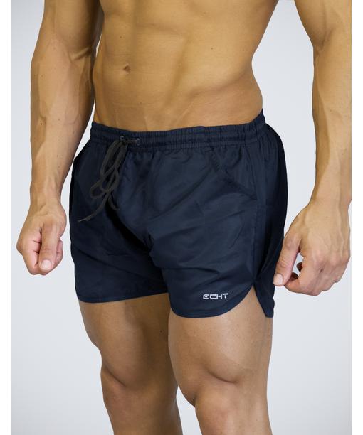 e9f7843967fd8 Echt Repel Curve Shorts Midnight Blue-Echt-Gym Wear | Curve shorts ...