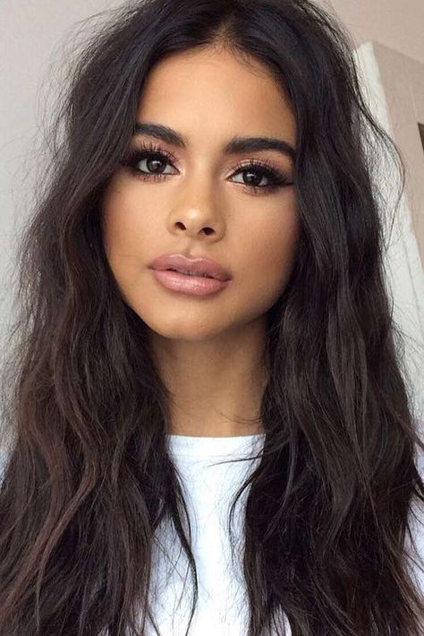 New hair color chart skin tone make up Ideas   Olive skin ...