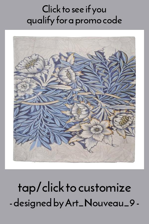 William Morris Beautiful Art Nouveau Design Vinta Duvet Cover Zazzle Com Art Nouveau Design Art Nouveau Art