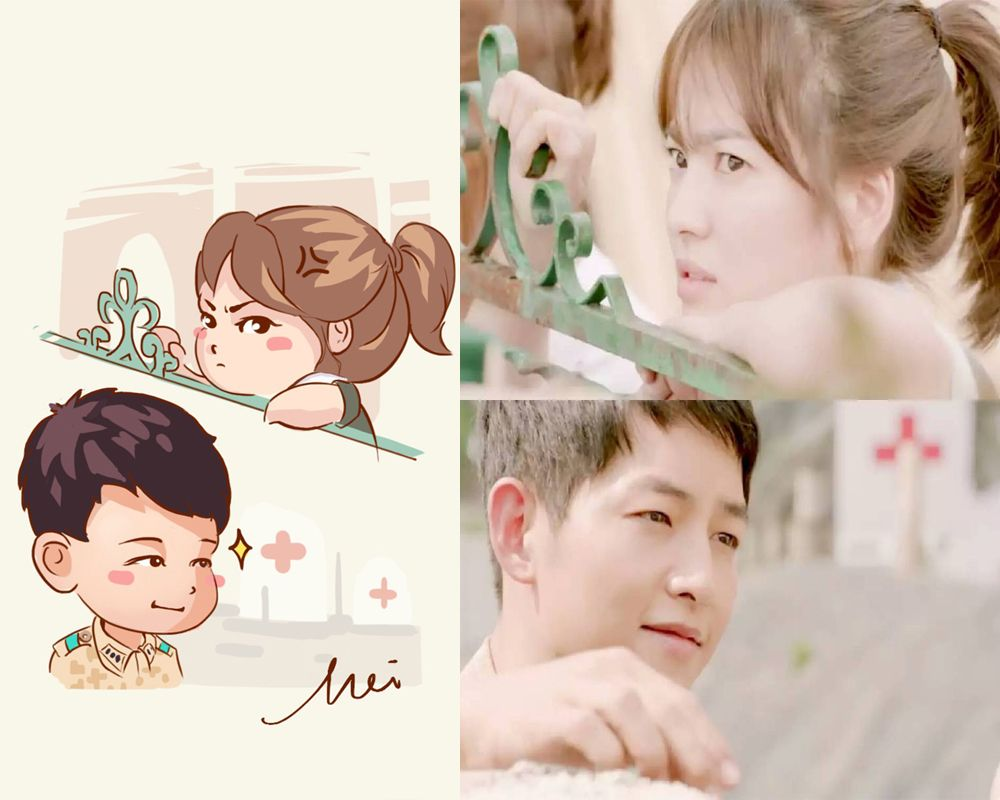 Song Hye Kyo Song Joong Ki Descendants Of