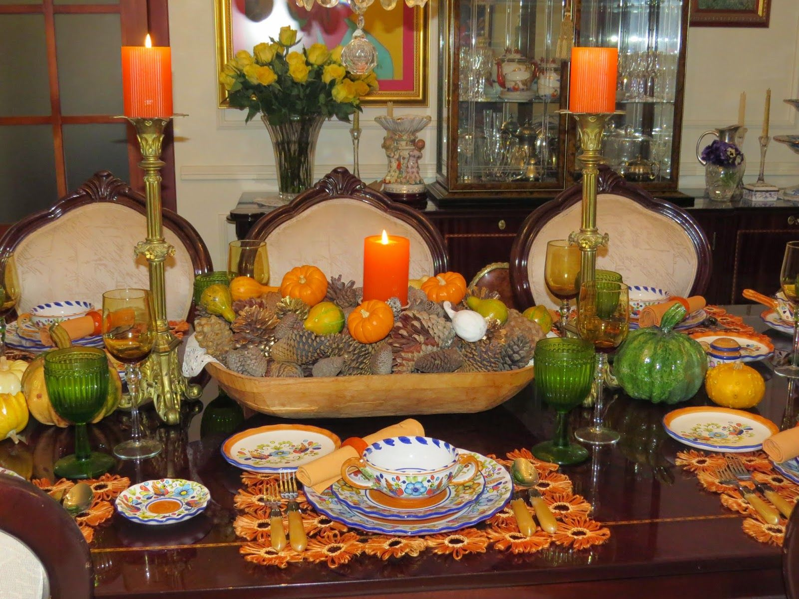 American Dinner Party Ideas Part - 22: FABBYu0027S LIVING: FABBY: An Autumn Dinner Party. Idea For A South American  Themed