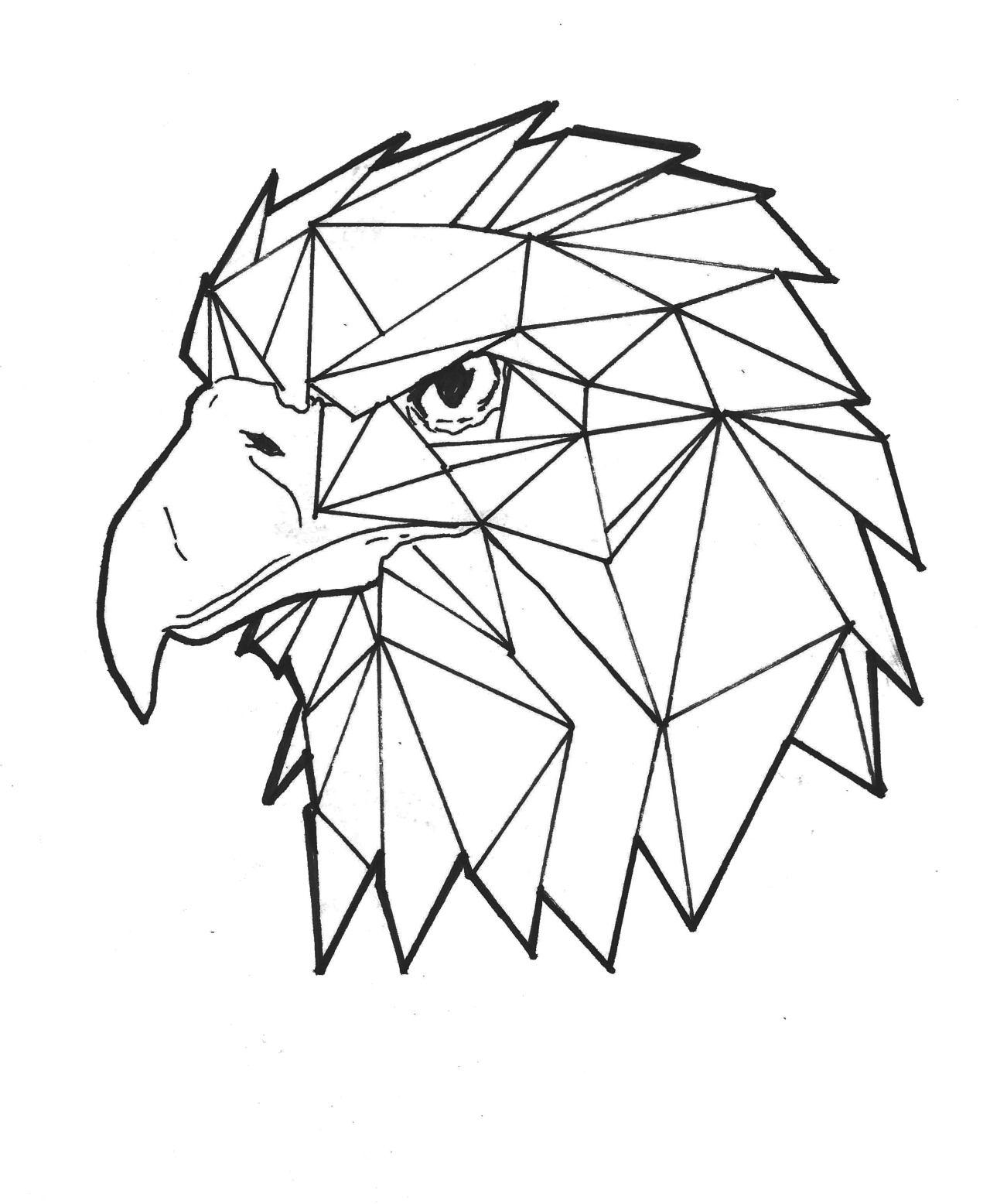 Animales Geometrizados Buscar Con Google Tatto Dibujo