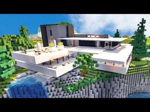 Defroi Youtube Minecraft House Designs Minecraft House Tutorials Minecraft Mansion