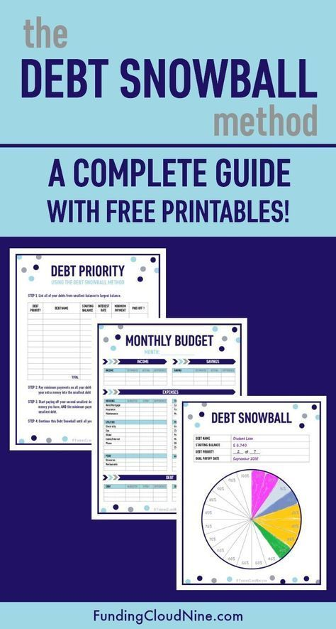 This is the ultimate guide to Dave Ramsey\u0027s debt snowball method - zero based budget spreadsheet template