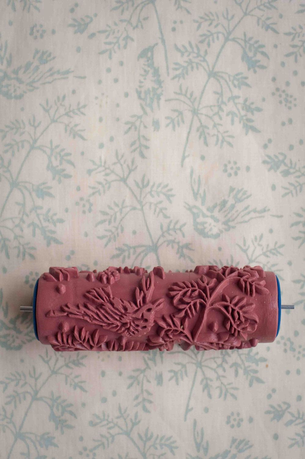No 1 Patterned Paint Roller From The Painted House Patterned Paint Rollers Paint Rollers With Designs Paint Roller