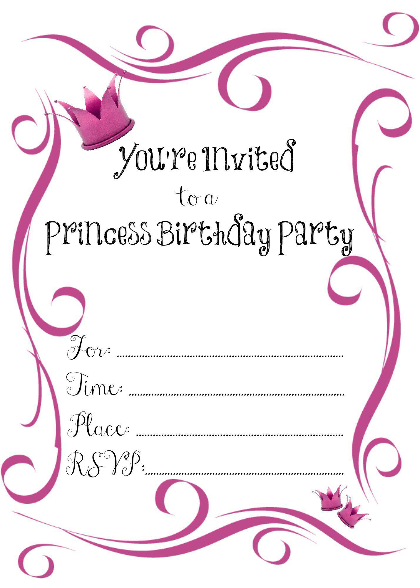 Great Make Birthday Invitations Online Free Photos Free - Birthday party invitation ecards