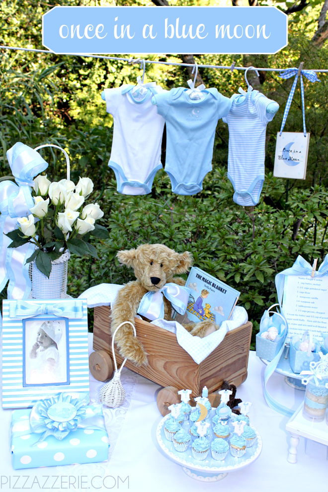 Baby Boy Baby Shower Theme Ideas Moon Baby Shower Springtime Baby Shower Baby Shower Diy