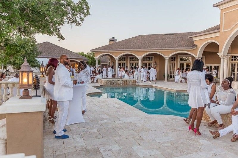 Casa Bella Estate Terrace Reception For Tini S Charity Luxury Wedding Venues Tampa Florida