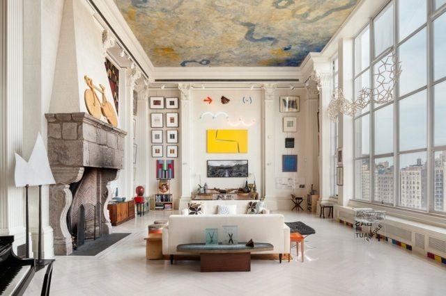 Wohnideen Auf Engstem Raum wohnzimmer wohnideen hohe decke raum einrichten home