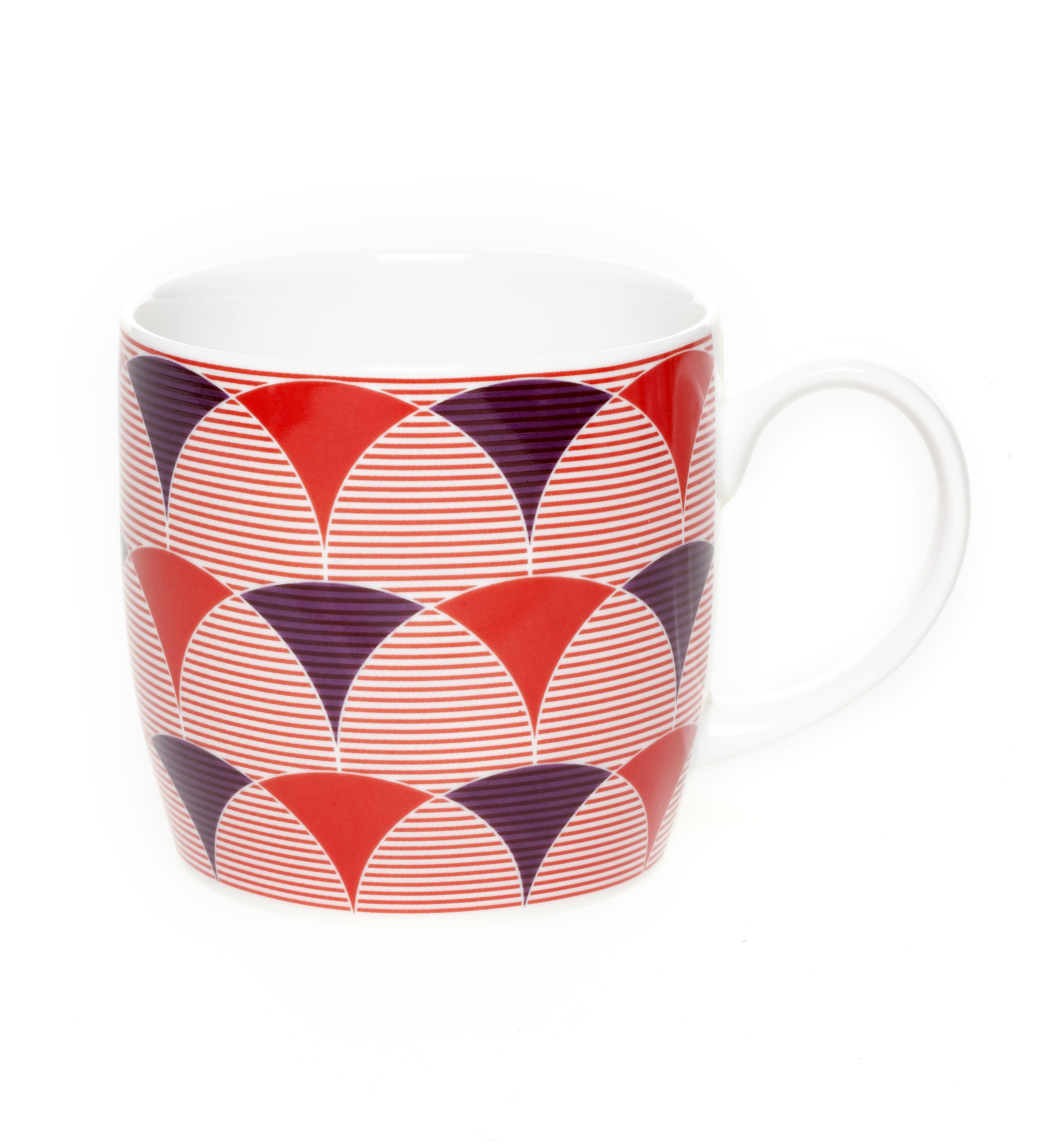 a.Deco Mug 330ml - Set of 6-CMG004