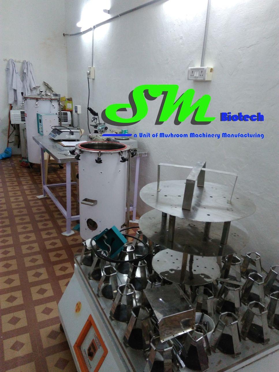 Spawn Lab Machines Setup Industrial sheds, Laboratory