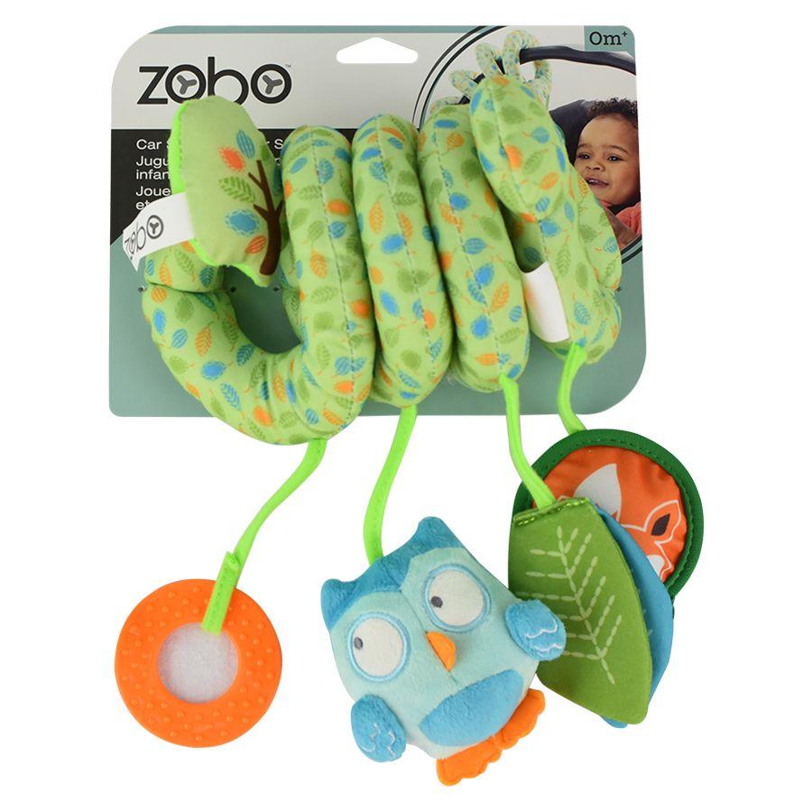 Zobo Car Seat Spiral Toy