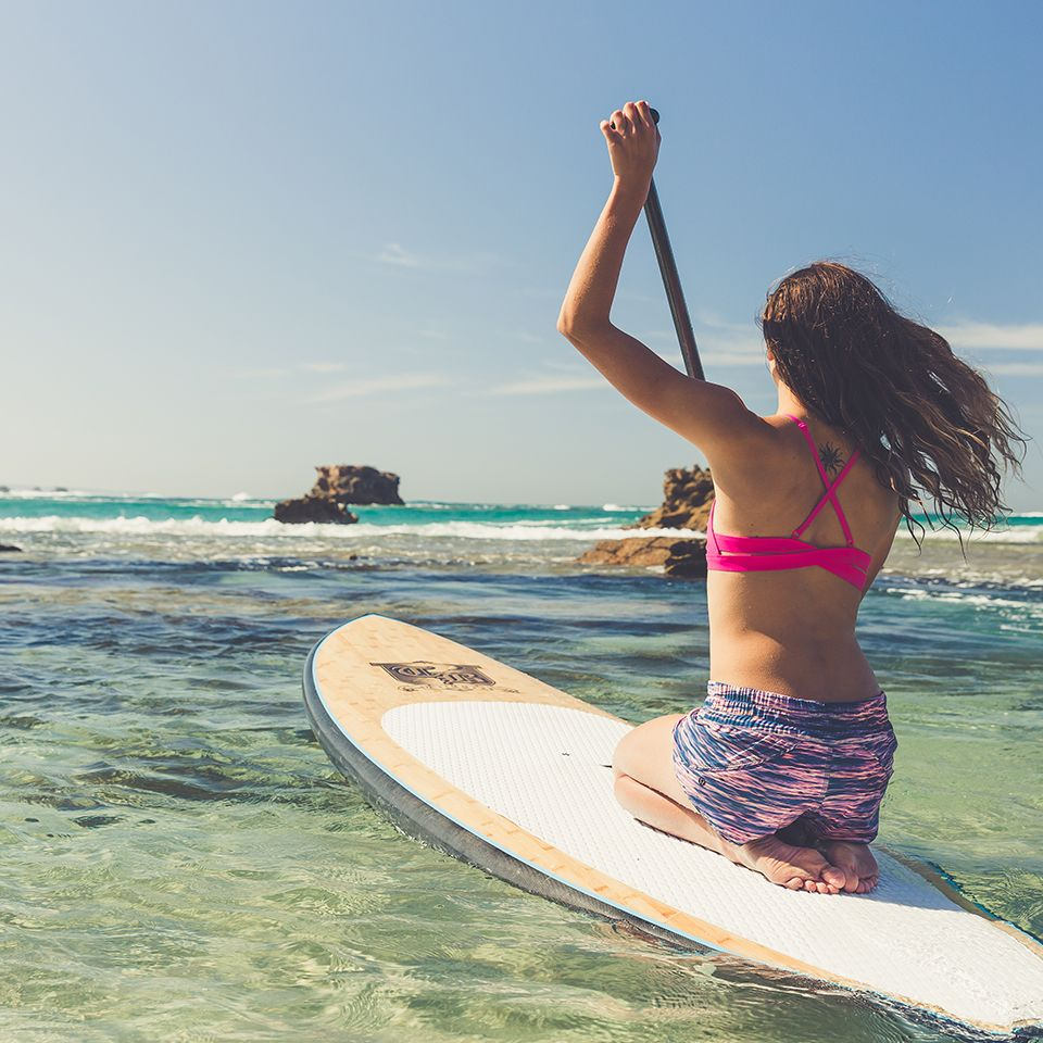 Paddle out. Swimwear is here.