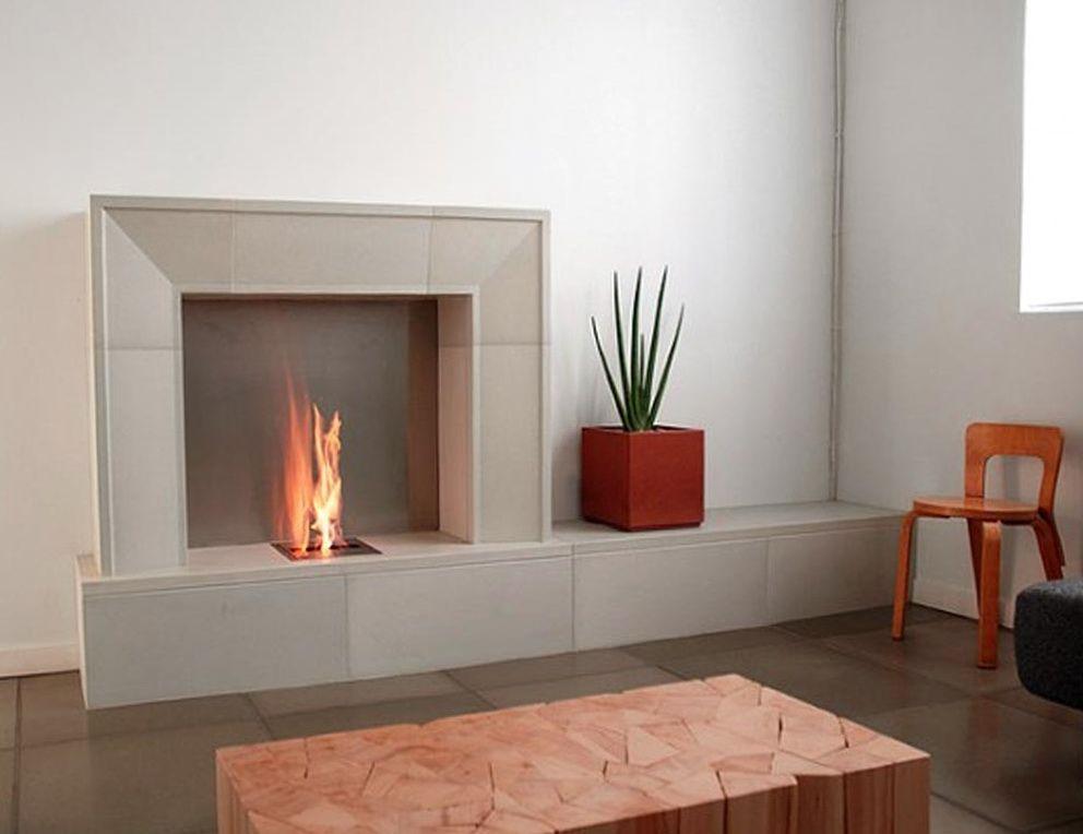Fireplace Surround Modern Stone