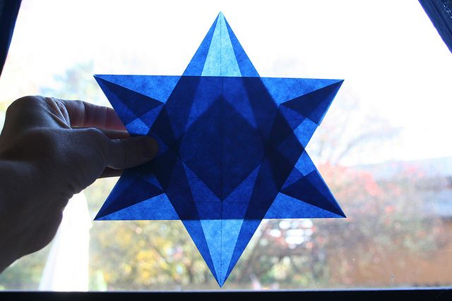 Star of David reading and origami - ESL worksheet by MarionG | 427x640