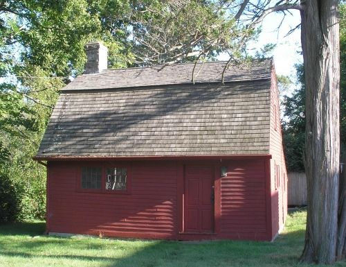 Nathaniel Foote House, Colchester,Connecticut, 1702 (this is