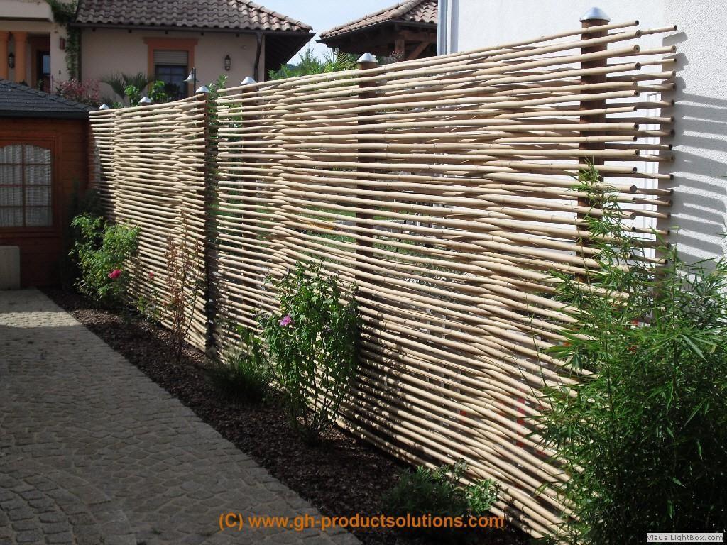 Bildergallery Bambus Sichtschutz Sichtschutz garten