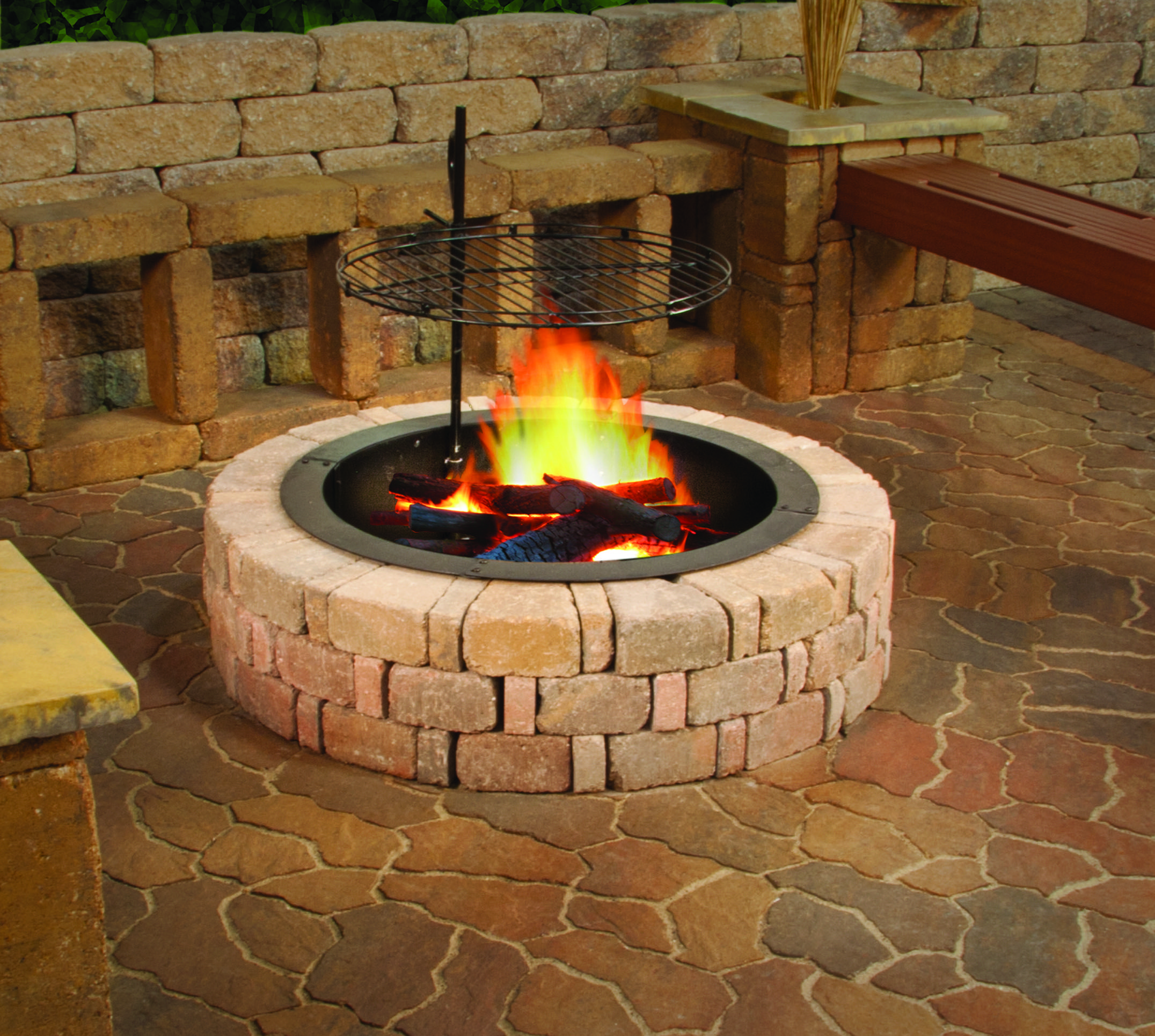 Pin by Menards on Outdoor Oasis Fire ring, Outdoor