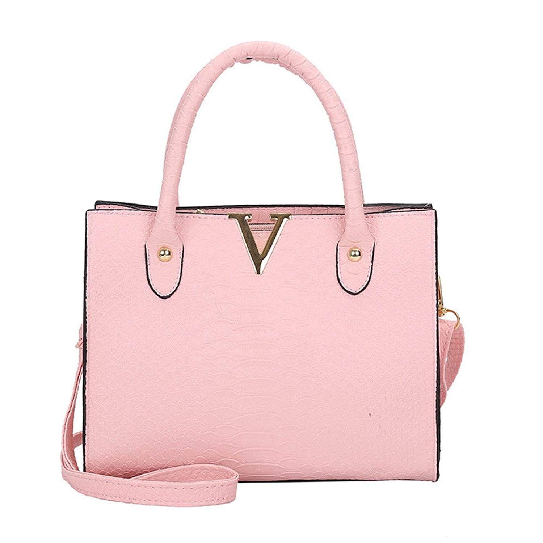 d0f2147bae COOKI Womens Purses and Handbags Ladies Alligator Pattern Fashion PU Leather  Simple Crossbody Handbags Designer Satchel Tote Bag Shoulder Bags on Sale  ...