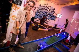 Junk Yard Golf | Junkyard golf at the Old Truman Brewery is crazy golf, but like REALLY crazy golf. The venue has three nine hole golf courses of weird and twisted junk, car booty and charity shop deco. You get to drink, play golf and have a jolly good time.17 Places To Take Your Date That Isn't Dinner