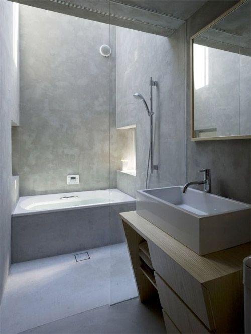 salle de bain loft / industrial home Pinterest Bath, Bathroom