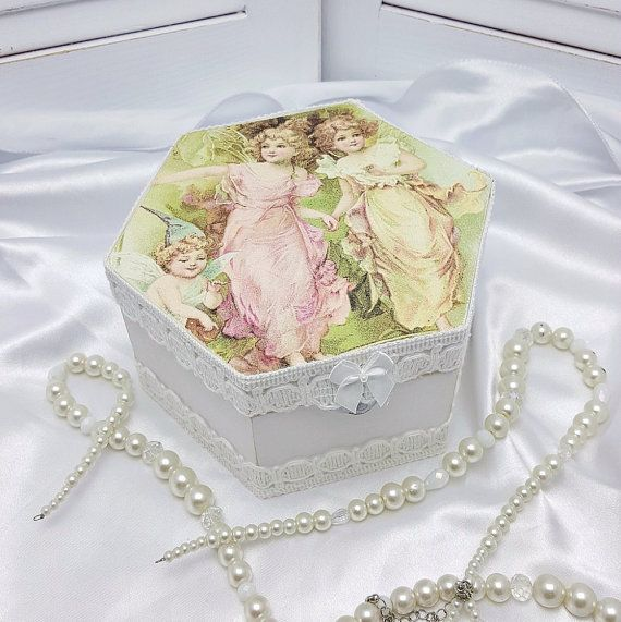 Granddaughter Jewelry Box Best Fairy Box  Jewelry Storage Box  Fairy Accessories  Wooden Jewelry 2018