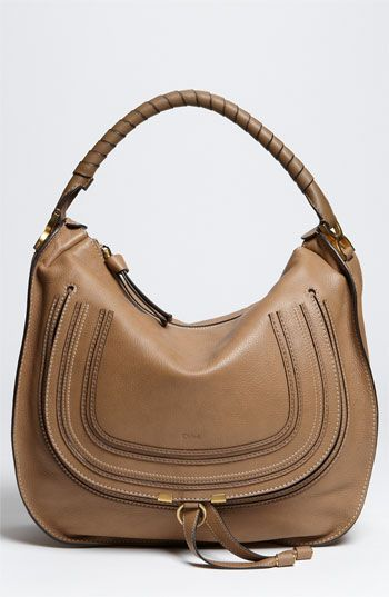 Chloé Marcie Large Leather Hobo Available At Nordstrom