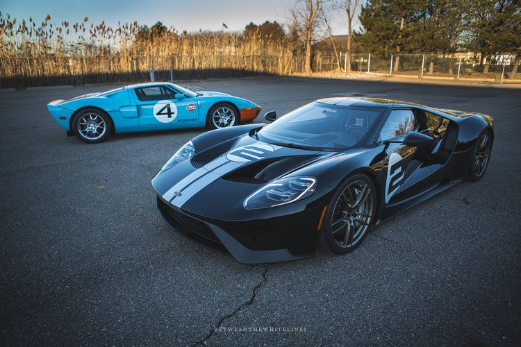 2017 Ford Gt Heritage Edition In 2020 Mashini