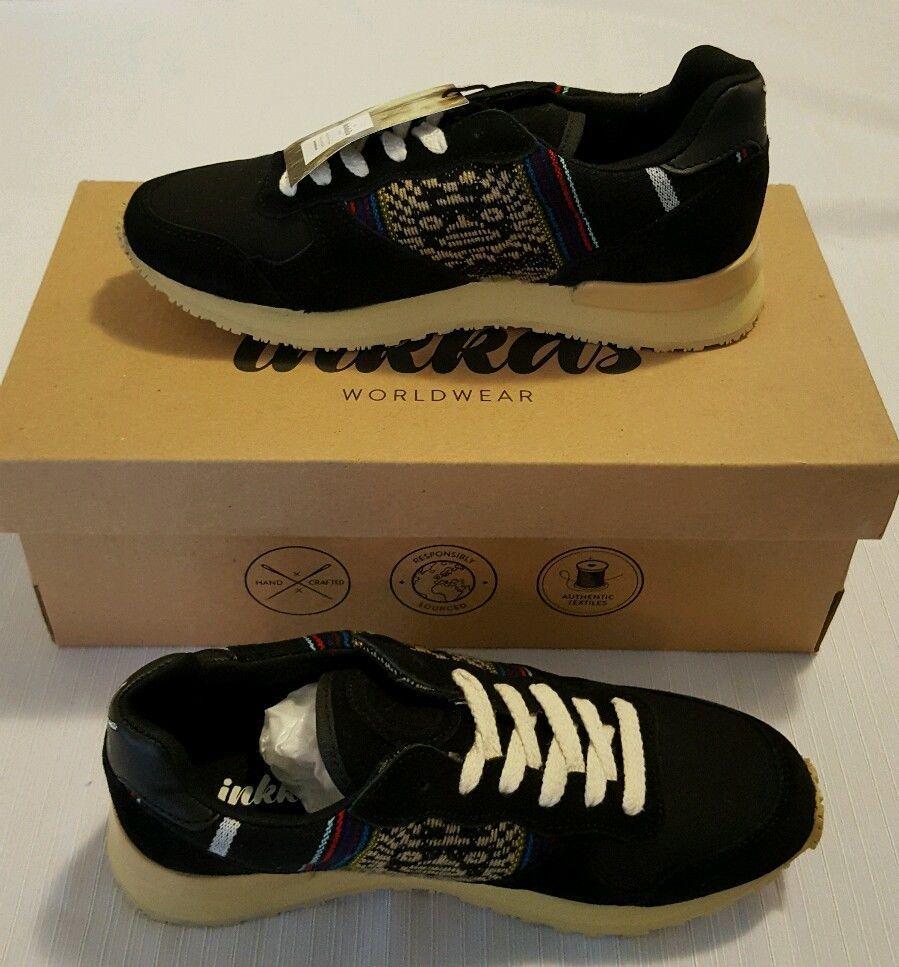 NEW Inkkas Jogger Blackbird Sneakers Size Mens 5 Womens 7