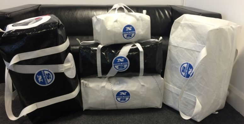 115358b13956 Kit Bags from North Sails - recycled sailcloth