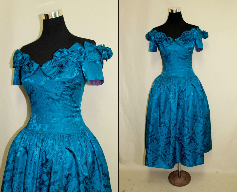 Vintage s prom dress s homecoming dress jessica mcclintock