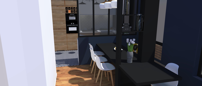 authentik design - architecte intérieur, décoration, salon,cuisine