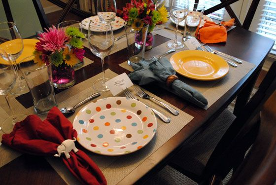 beautiful table settings - Google Search : nice table setting - pezcame.com