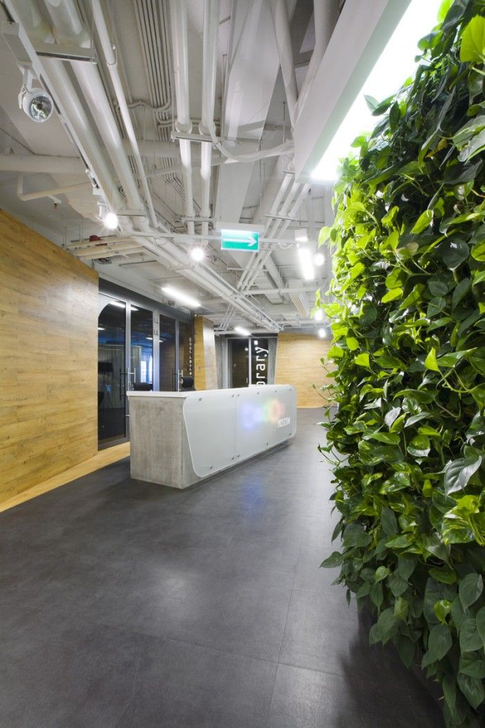 Badoo Moscow office for web developers by za bor Architects