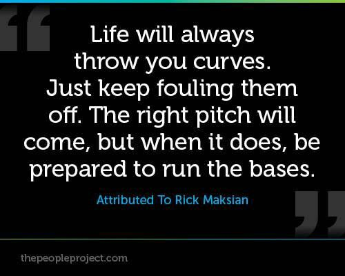 Curve Balls Baseball Mom Pinterest Quotes Motivational Quotes Fascinating Baseball Life Quotes