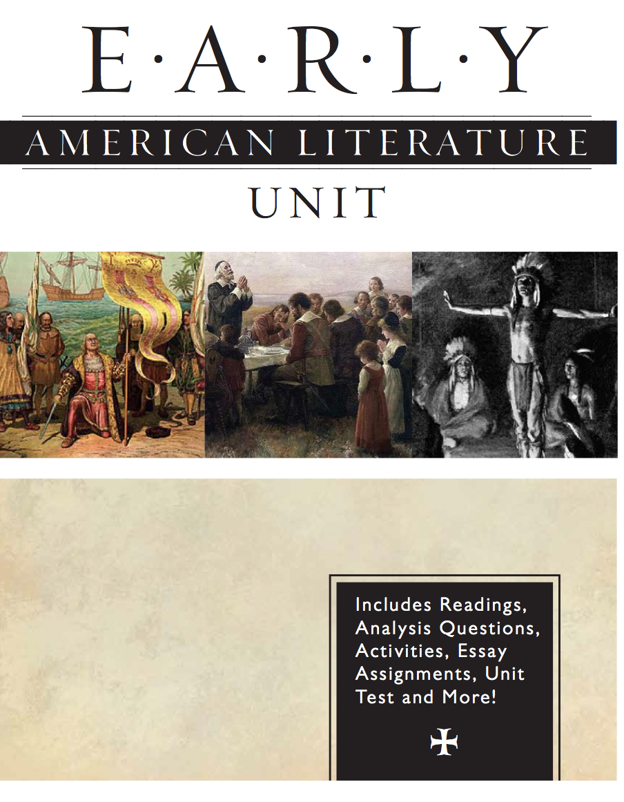Early American Literature Unit American literature