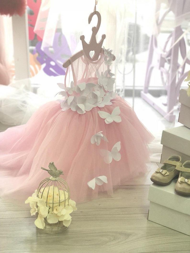 13++ Butterfly dress toddler info