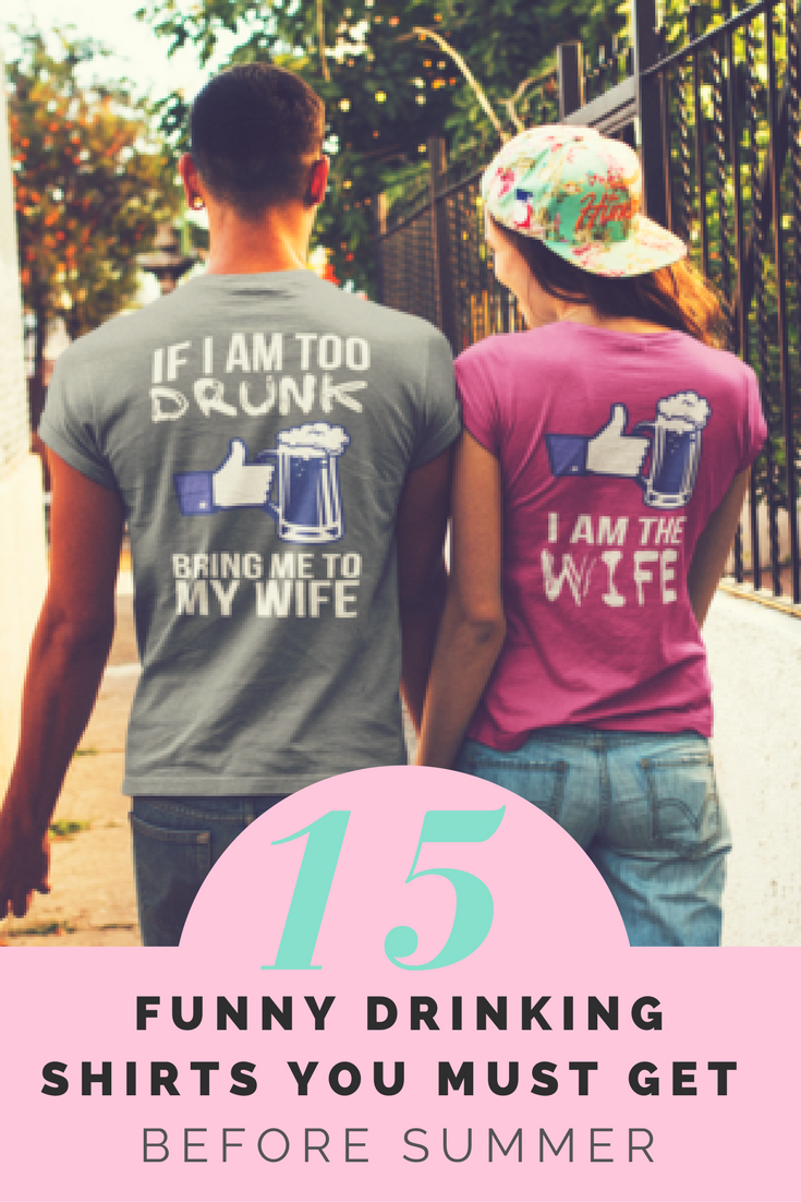 57f6890b #Funny Drinking #Shirts You Must Get Before #Summer. #beer #love #couple  #wife #lover