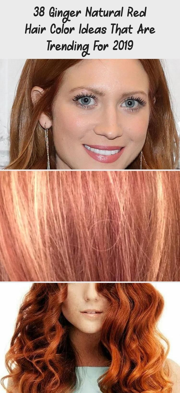 38 Ginger Natural Red Hair Color Ideas That Are Trending