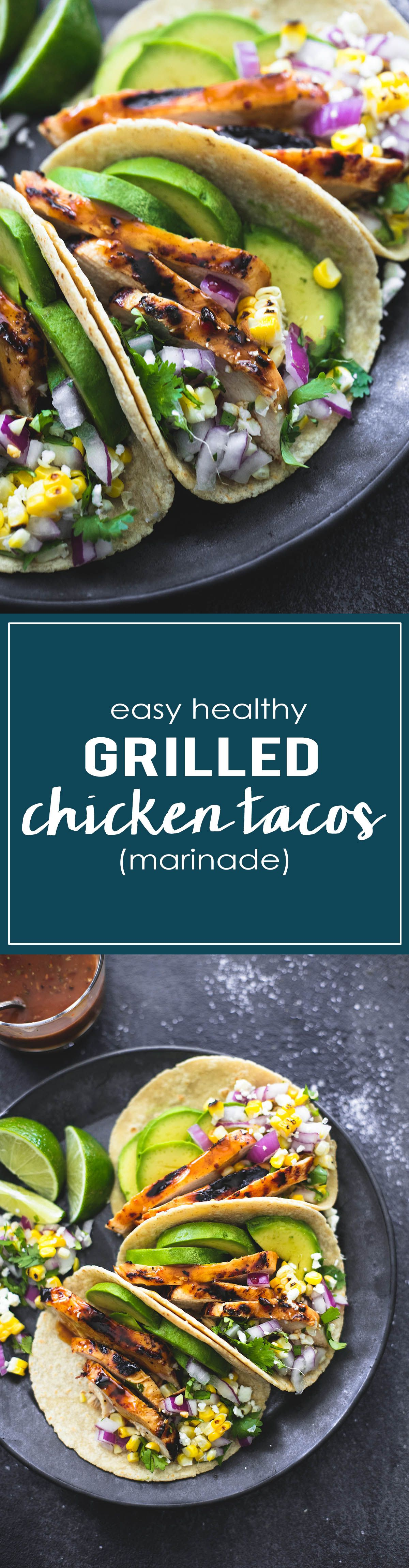 The Best Ever Marinade For Grilled Chicken Tacos Lecremedelacrumb Com
