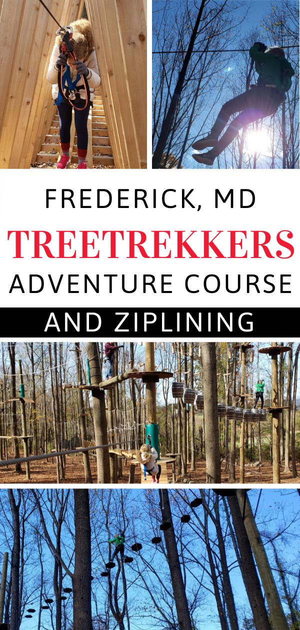 Treetrekkers Frederick Md Outdoor Adventure Park Adventure Park Outdoor Family Fun Adventure