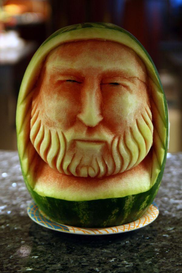 Awesome watermelon carvings fruta tallado de