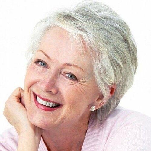 pin auf frisuren für frauen ab 60