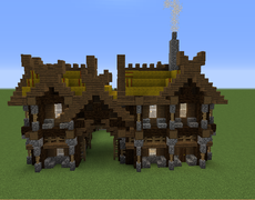 Viking Stables With Images Minecraft Buildings Minecraft