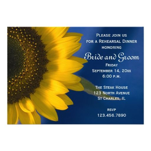 $$$ This is great for          Sunflower on Blue Rehearsal Dinner Invitation           Sunflower on Blue Rehearsal Dinner Invitation in each seller & make purchase online for cheap. Choose the best price and best promotion as you thing Secure Checkout you can trust Buy bestShopping          ...Cleck link More >>> http://www.zazzle.com/sunflower_on_blue_rehearsal_dinner_invitation-161267804110737192?rf=238627982471231924&zbar=1&tc=terrest