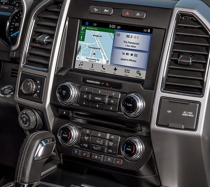 2018 F 150 Avaliable Sync 3 Is Out Easy To Use Responsive Voice
